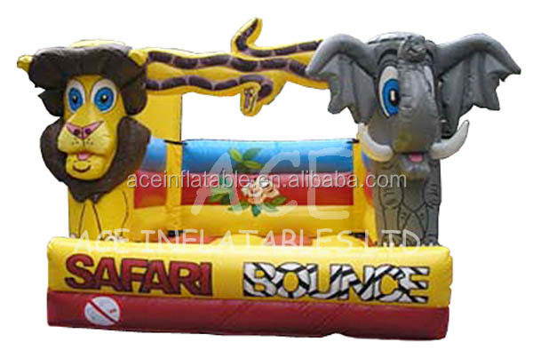 Funny Inflatable Safari/ Zoo Bouncer/ Jumper