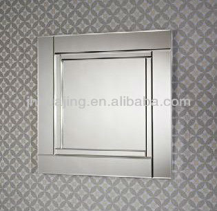 hinged mirrors bathroom with model inspiration. Black Bedroom Furniture Sets. Home Design Ideas