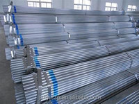 construction material galvanized steel pipe of welded