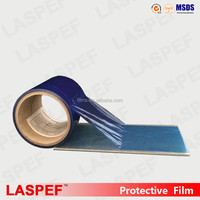 Blue Plastic Protective film,Adhesive Anti-scratch protective film for Stainless Steel Panel