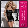 Top quality wet look hot sale sexy adult lady girls party dress