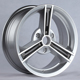 "15"" 16"" 3 hole 5x112 BZ replica alloy mag rims with VIA/JWL"
