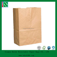 2015 machine made craft paper grocery bags