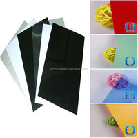 Plastic material, Transparent pvc rigid sheet siutable for wedding photo album
