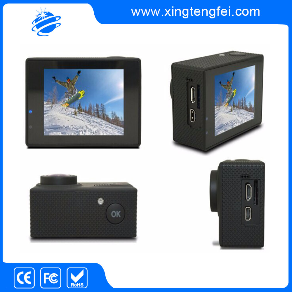 Factory wholesale action sports camera 4 k with great waterproof