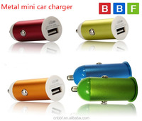 BBF mobile phone charger 1A Mini USB Car Charger Adapter for Apple iPhone 5S 5C 5 4S 4 iPod Touch