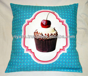Cake Art Printer : Cake Art Print Cotton Cushion Cover - 50x50 Cm - Buy ...