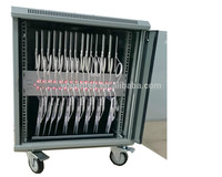 IPADs Tablets Chromebooks Storage Educational Charging Cabinet/Cart/Trolley 30 units with Led Indicator
