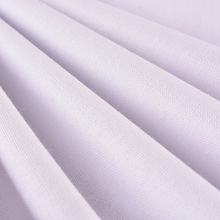 Wholesale thin pure white organic cotton canvas drill fabric for baby's clothes