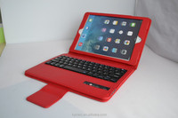 Alibaba new products removable waterproof flexible bluetooth keyboard for ipad Air