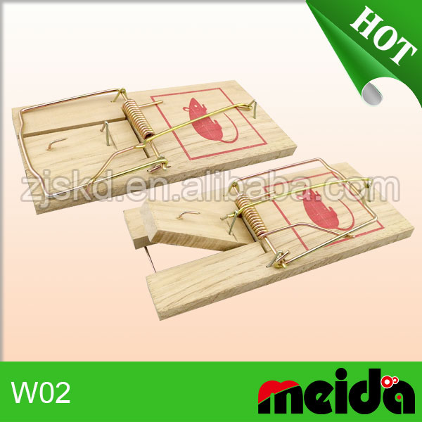heavy duty wooden large rat trap mice killer mouse trap adhesive