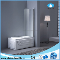 1 piece bathtub shower enclosures