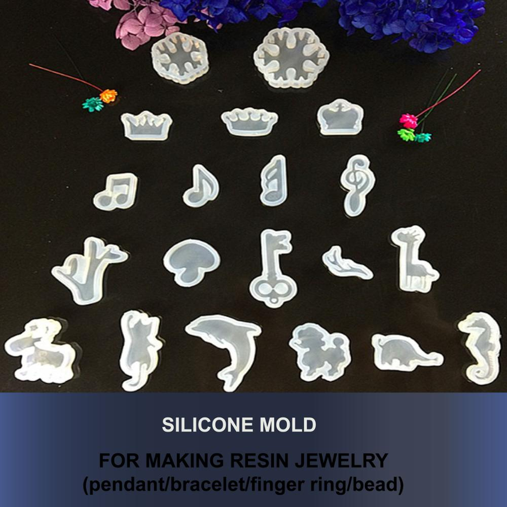 DIY Silicone Mold DIY Jewelry Kit Resin Jewelry Making Tools