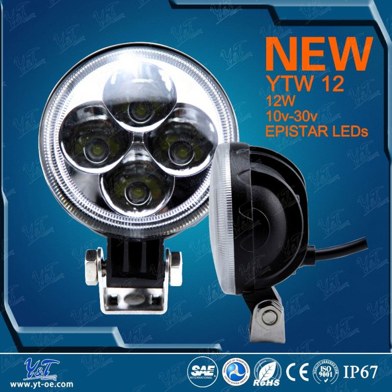 Auto led lighting EXTRA BRIGHT wholesale offroad 12w led work light
