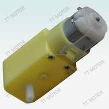 Used in toy or robot TGP01D-A130 plastic gear motor mini toy motor