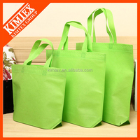 Reusable foldable logo non woven shopping bag