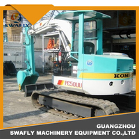 Japan Origianl Used PC50UU Mini Excavator,Japan PC50UU-1 PC50UU-2 Crawler Excavator for Sale