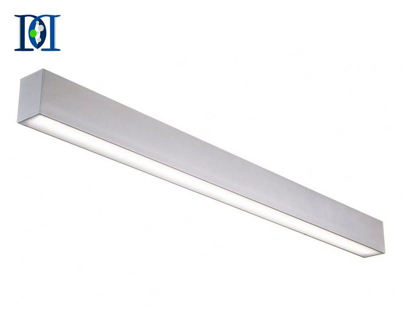 LED Linear Light, 20W Pendant & Ceiling Light Fixture, Adjustable Hanging