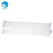 Factory price wholesale 1*8w steel and PC lampshade marine fluorescent mirror light with socket