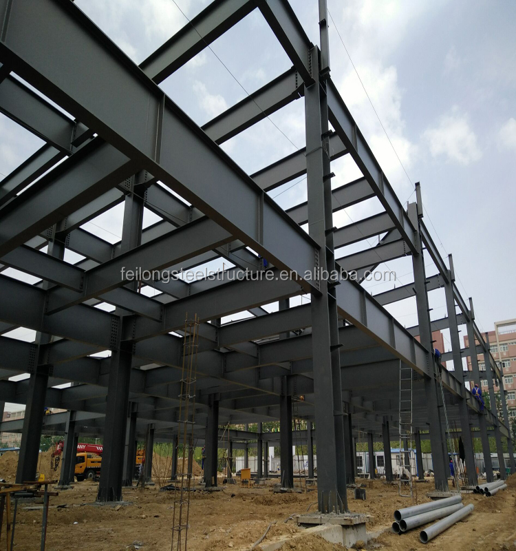 high quality and competitive price design prefabricated office building made by steel fabrication company