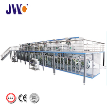cheap disposable baby diaper making production line