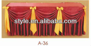 Dining Room Table Cloth Folding Banquet Table With Table Cover E 009+A