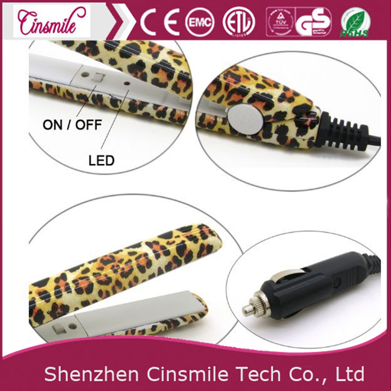 2018 Portable Mini ceramic flat iron hair flat iron car Hair Straightener JD-160/166/168