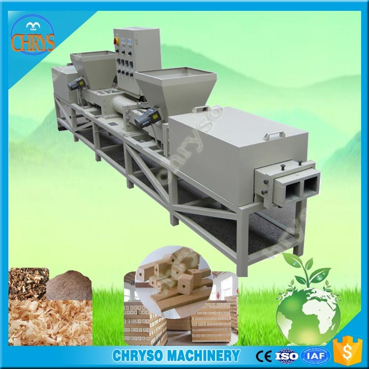 compress wood shaving pallet block making machine with factory price