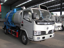 Factory direct sale Dongfeng small sewer suction truck