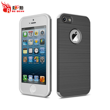 Redian hybrid cell phone case for iphone 5,full protective case with screen protector for iphone series