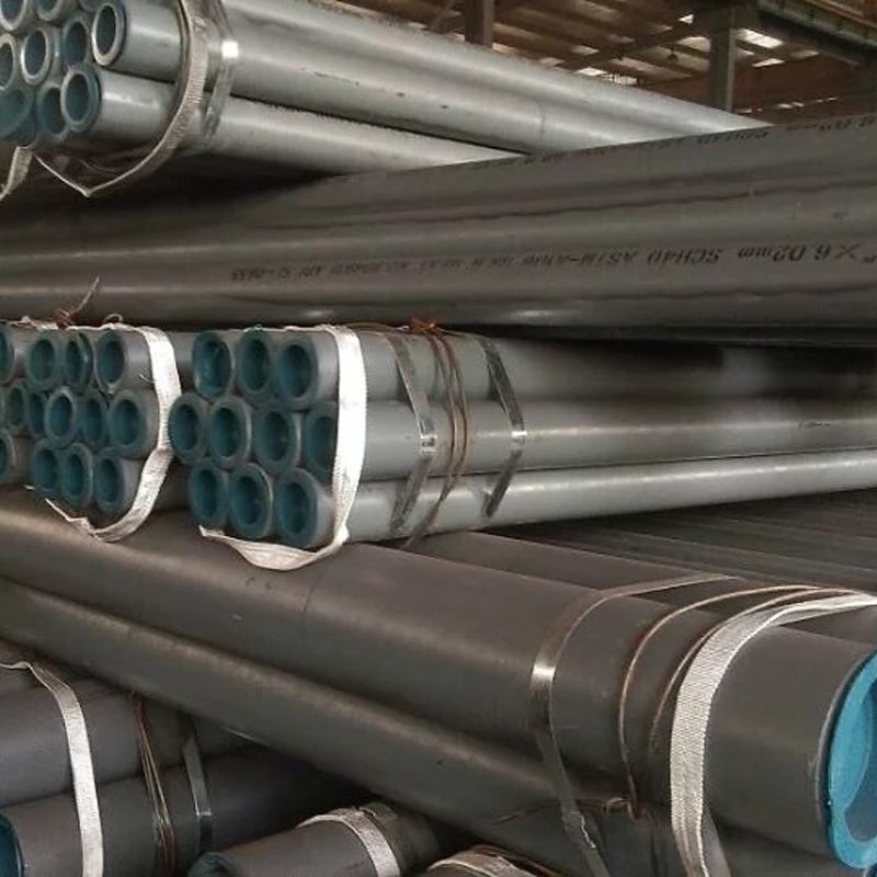 Professional customized welded seamless steel pipe / welded hollow section steel pipe for sale