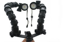 Triple Clamps underwater video light arms for Underwater Gopro Mounts and Trays