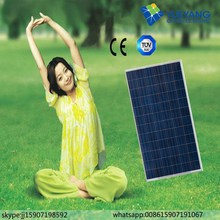 High quality high efficiency 300w poly factory direct price per watt solar panels
