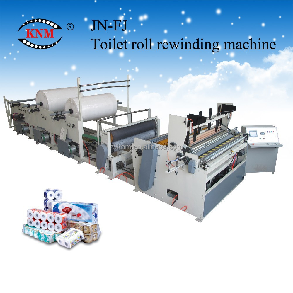 JN-FJ Serie Toilet Paper machine for toilet roll paper manufacturing