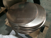 Brand new tri-ply stainless steel circle for cookware with low price