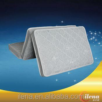(JM-d200a)-Three foldable natural coconut palm fiber mattress - Jozy Mattress | Jozy.net