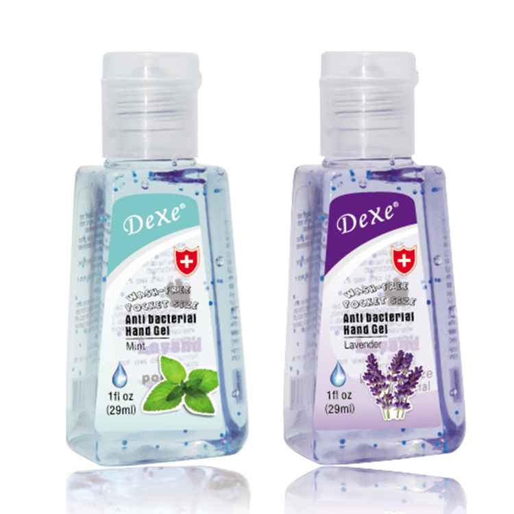 Dexe fragrance 29ml waterless antibacterial Hand Sanitizer Wash