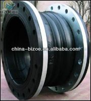 thread type/oil resistant/epdm/ss/galvanized pn16 double sphere screwed rubber expansion joints