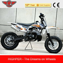 50cc 2 stroke Kick Start Gas Powered Mini Kids Dirt Bike with KTM engine