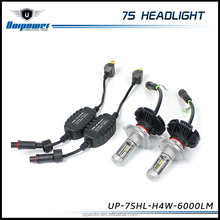 guangzhou unipower 7s H4 6000lm Universal car motorcycle led 16 pcs head light 8000K