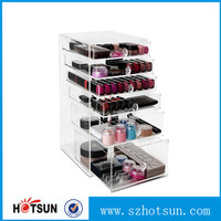 Large Luxury Acrylic Makeup Organizer With Drawers