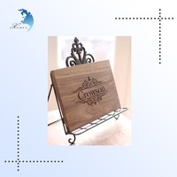New top Quality Antique lmitation Wood Carving Printing Post Card