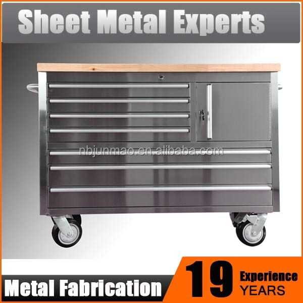 Heavy duty industrial cheap tool boxes cabinets on wheels rolling toolbox