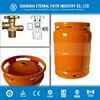 SRFIC Brand (002) 2016 ISO Standard 2kg Small Portable Empty Orange LPG Gas Cylinder Price For Filling With Parts