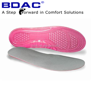 Massaging foot cushion Gel Insole printing designs shoe inert