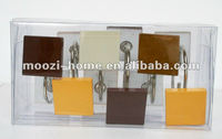 curtain hooks, shower curtain rings