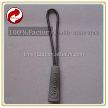 2015 GZ-Time string pvc pullers head,ykk pvc zipper puller,jacket string pvc zipper puller