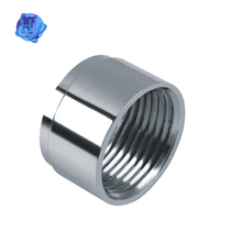 Galvanized Carbon Steel female thread Pipe Fitting pipe Nipple