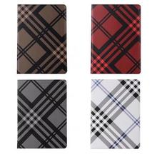 Luxury Plaid Leather Tablet Cover For Pro 9.7 Inch Case Flip Book Stand Cover For Apple iPad 2017 new Smart phone Accesories