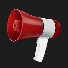 Multifunctional megaphone with talk play record siren USB and TF card